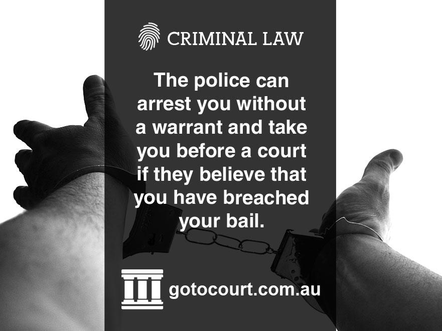Breach of Bail NT