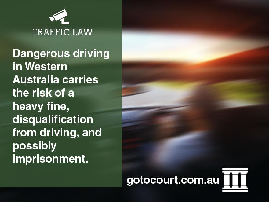 Dangerous Driving Western Australia