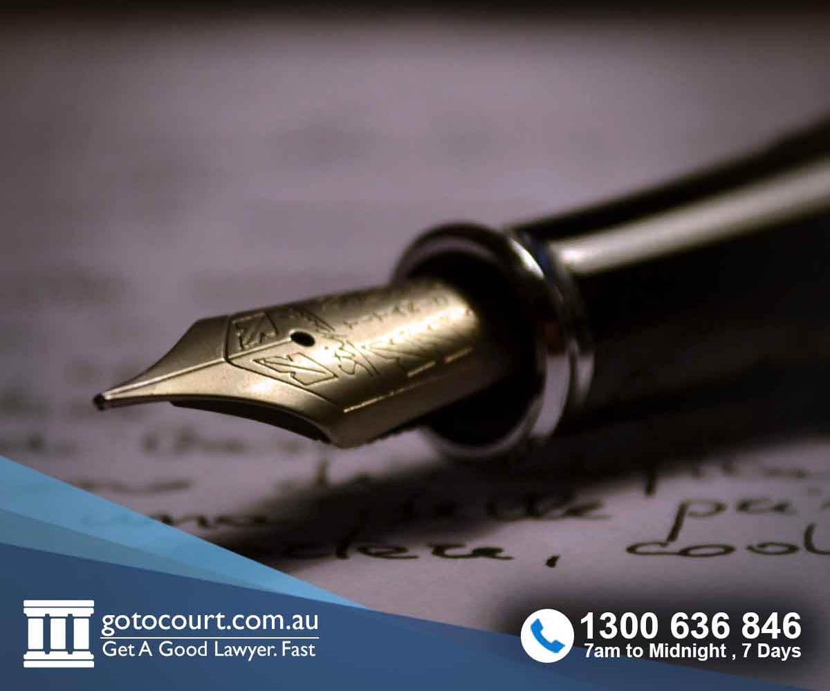 Making a will in Australia
