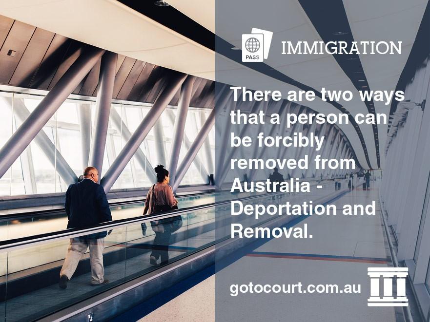Deportation from Australia