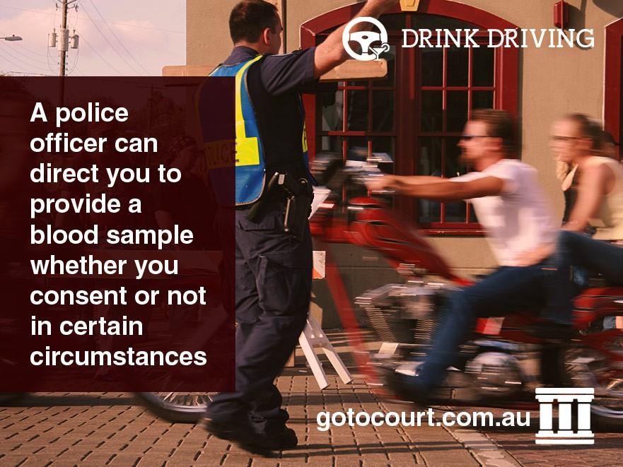 Refusing Blood Test NSW