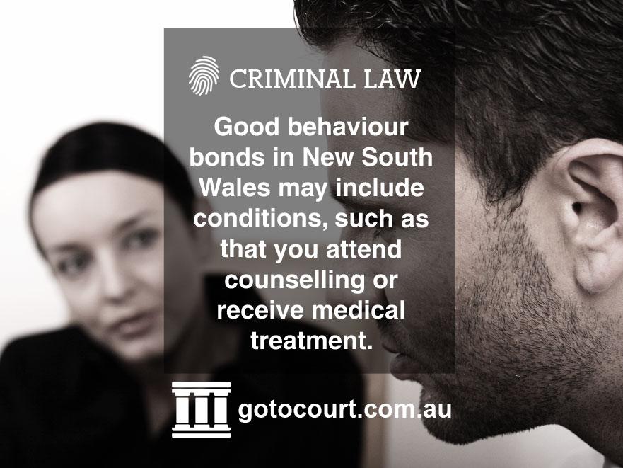 Good Behaviour Bonds NSW