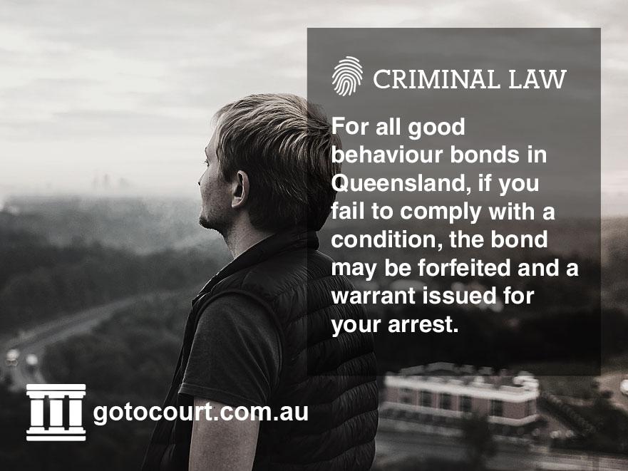 Good Behaviour Bonds QLD