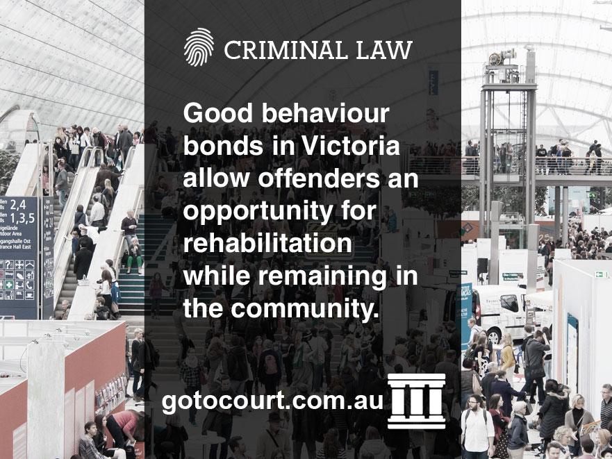 Good behaviour bonds VIC