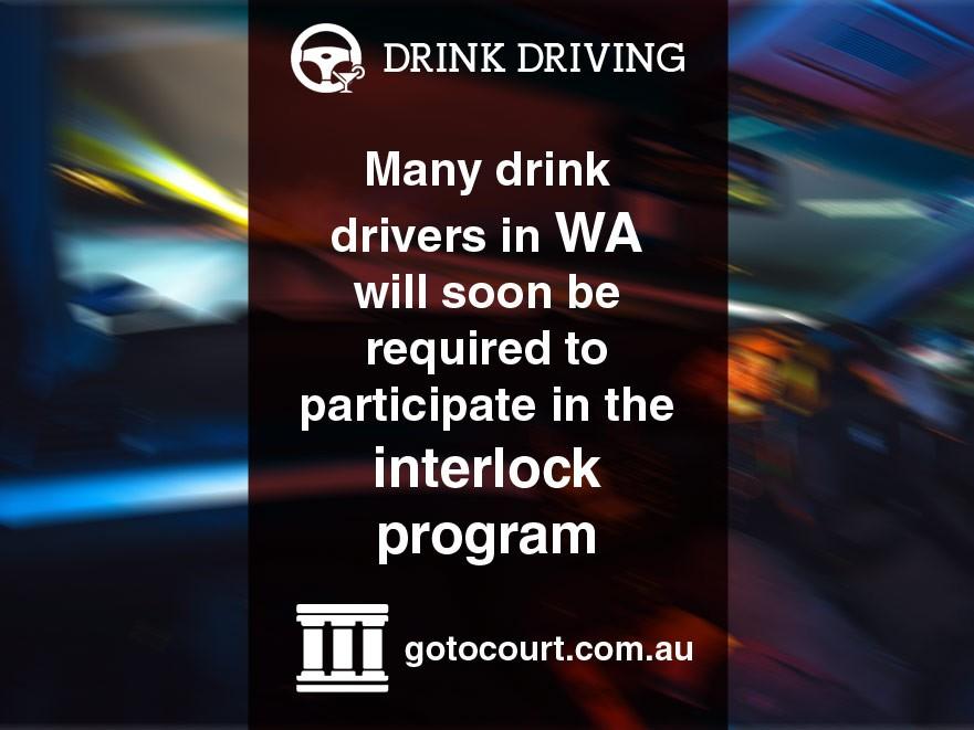 Interlock Program for Drink Drivers in Western Australia