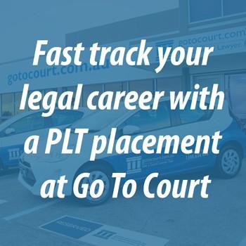 Australian PLT placement program legal careers