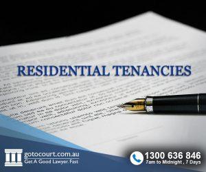 Residential Tenancies in NSW