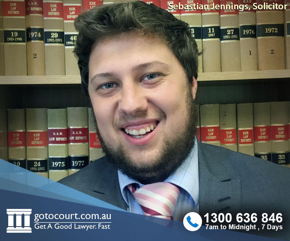 Sebastian Jennings, Go To Court Associate Solicitor