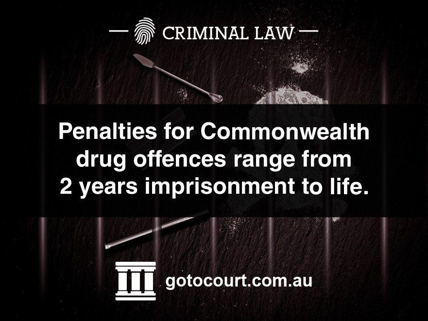 Commonwealth Drug Offences in Australia
