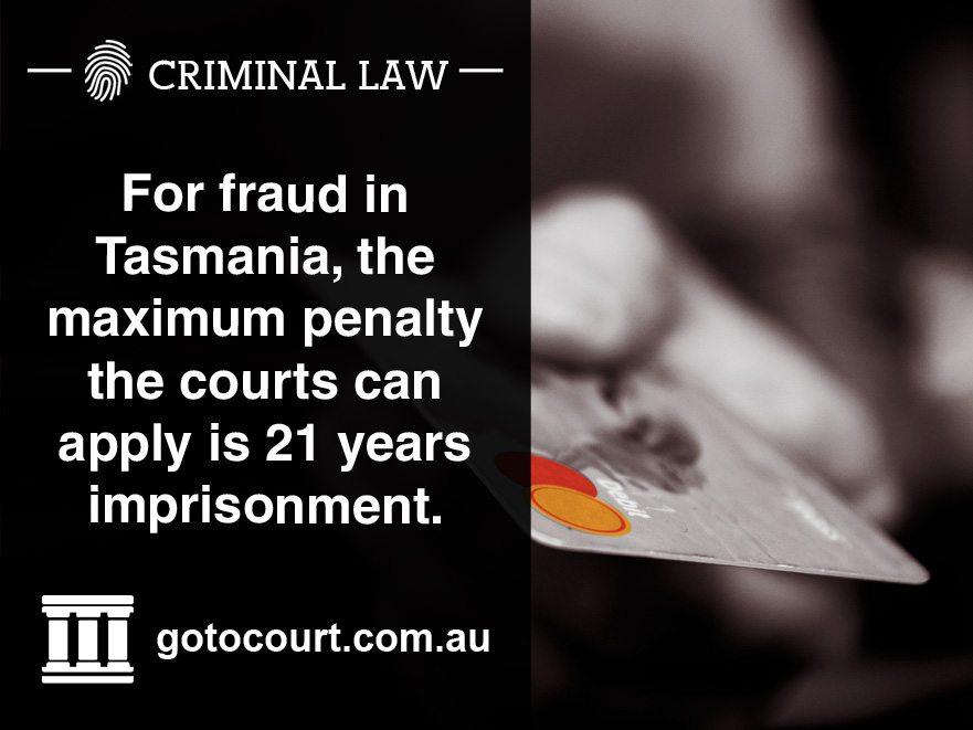 Fraud in Tasmania