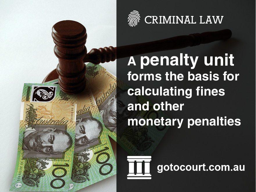 Penalty Units in Australia