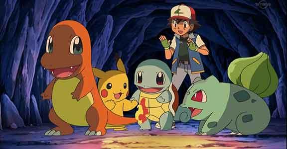 Pokémon Go character scene