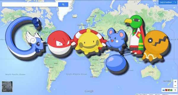 Pokémon Go and Google Maps