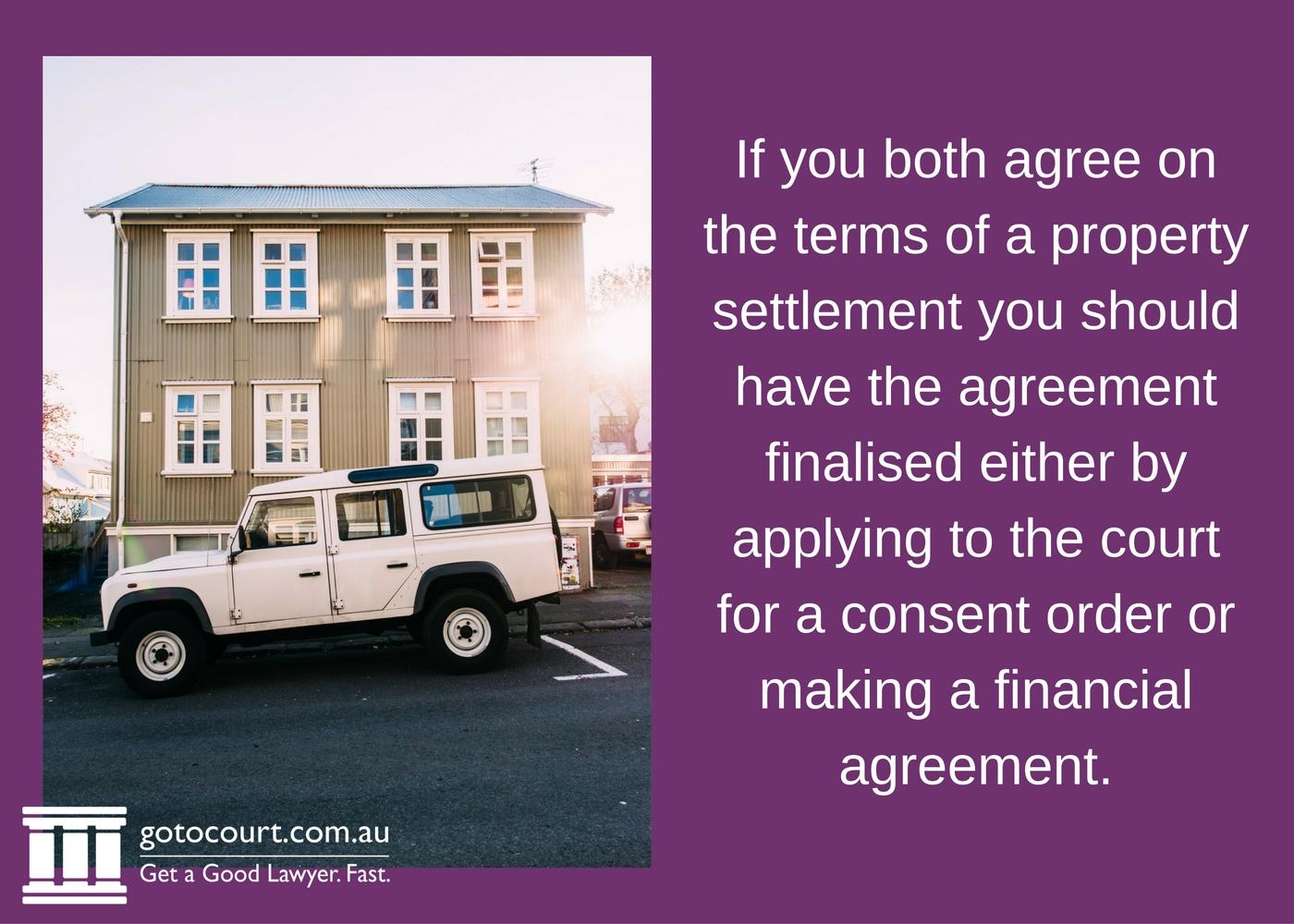 Property Settlement Basics