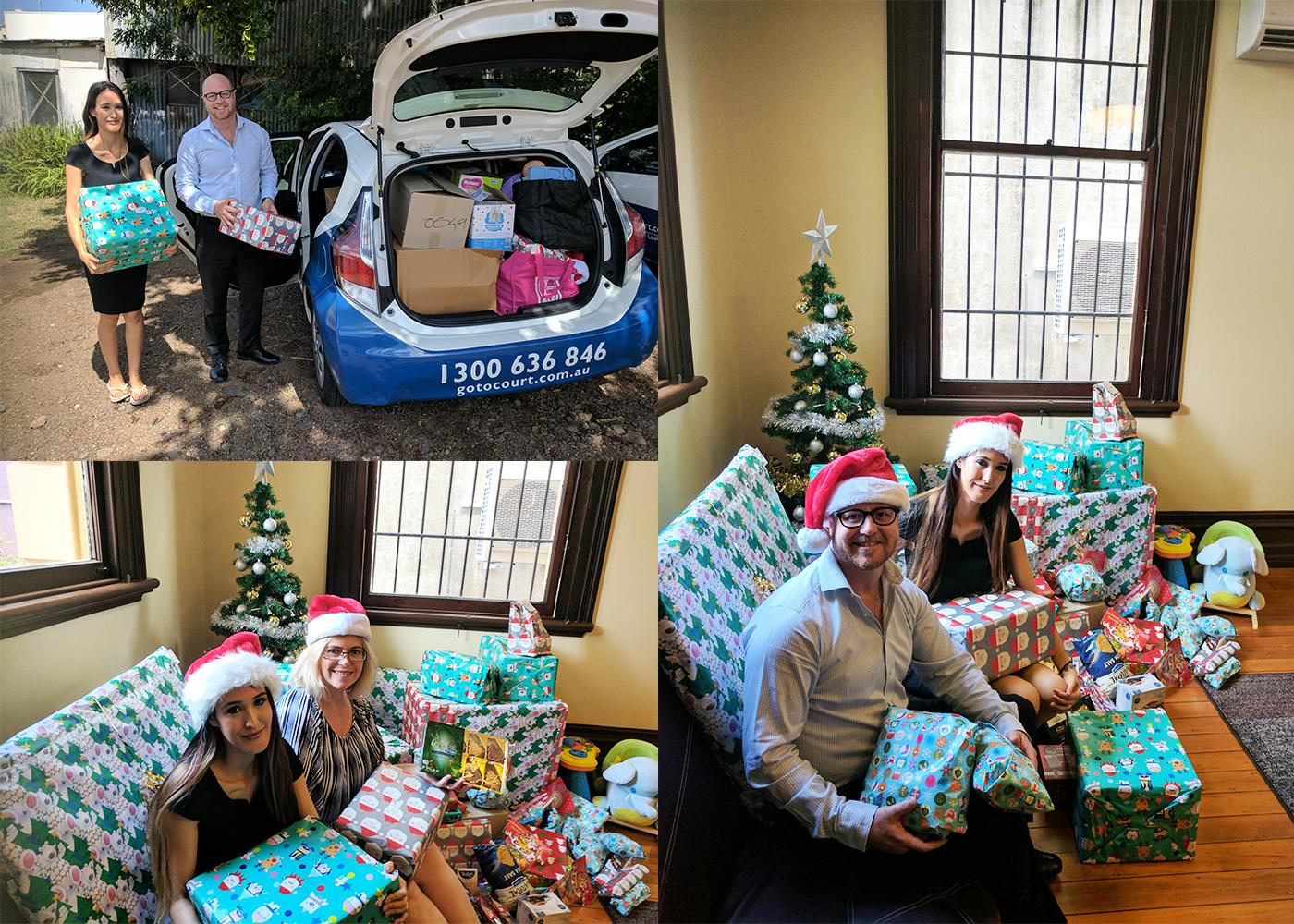 Christmas drive by Belinda Robinson