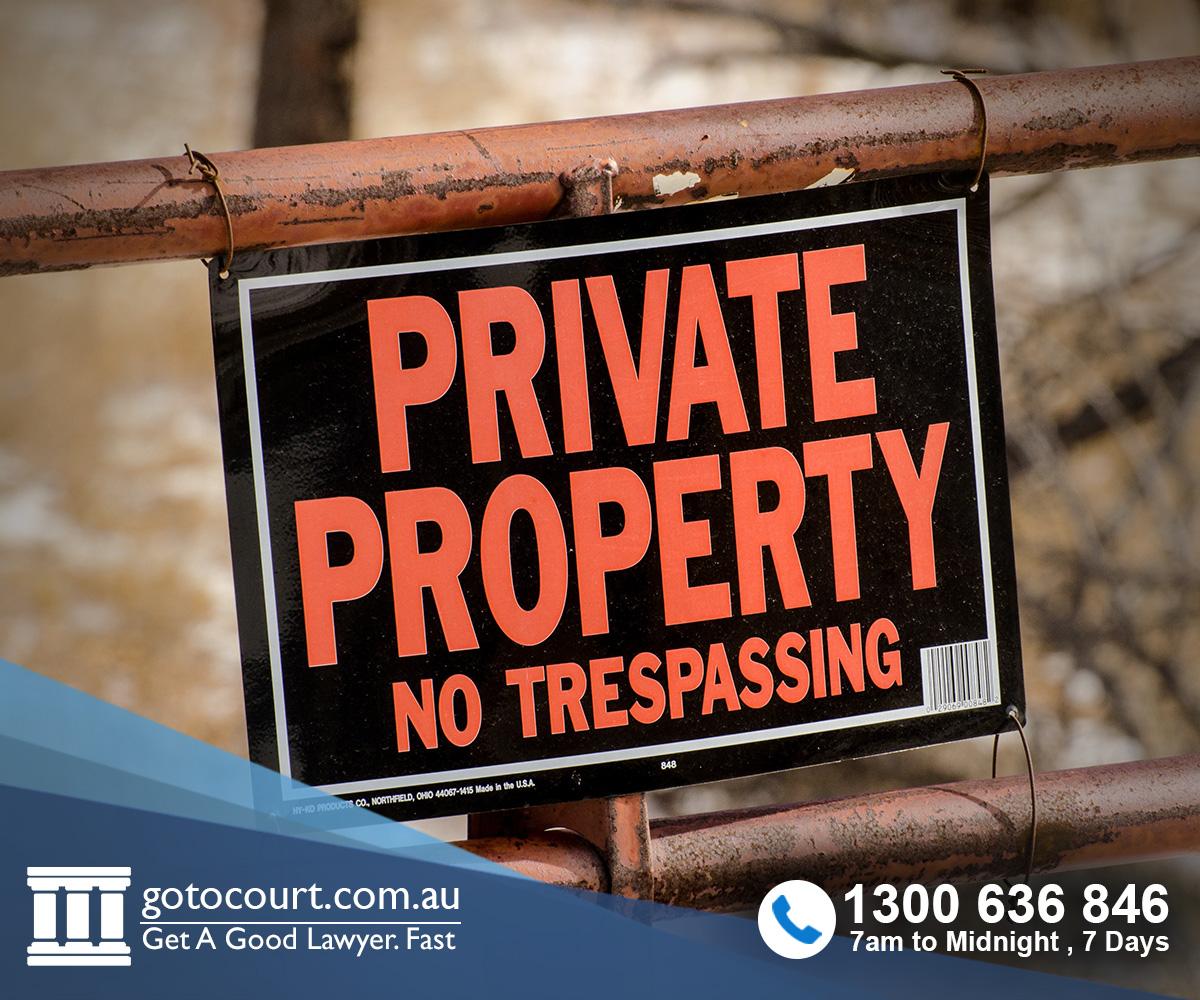 Trespass ACT
