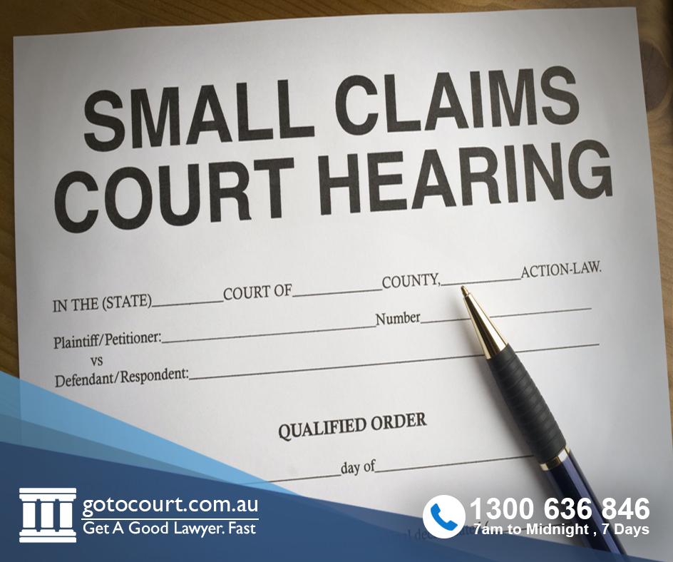 Minor Case Claims small claims WA Australia