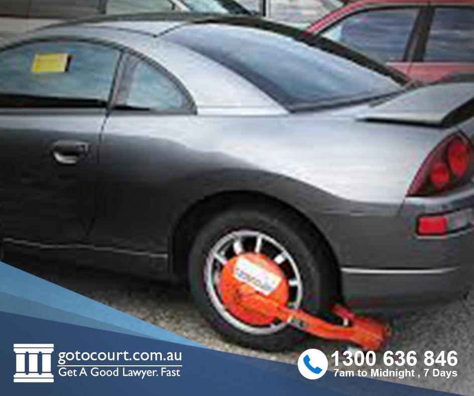 wheel clamping
