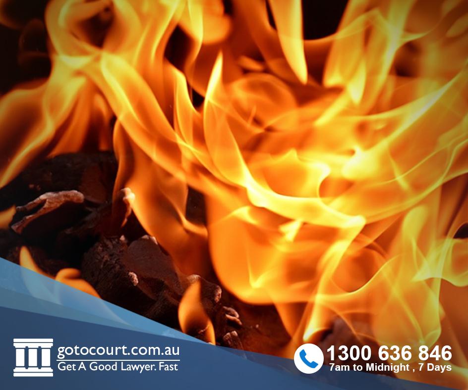 arson offences