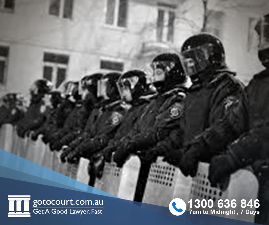 riot violent disorder