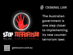 Proposed Counter-Terrorism Legislation AUS