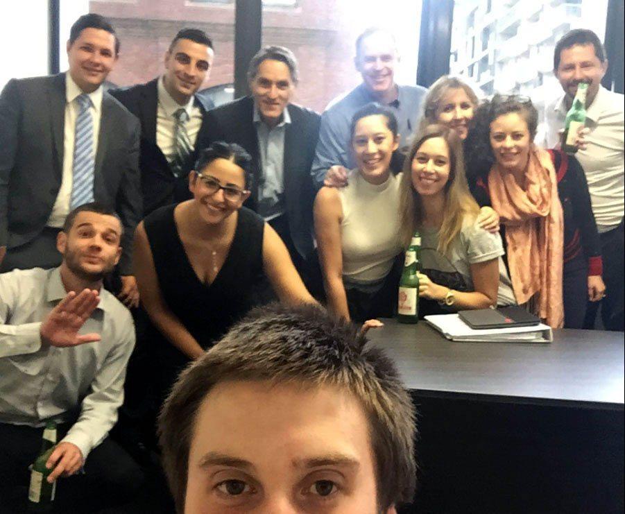 Go To Court Pitt St Office staff