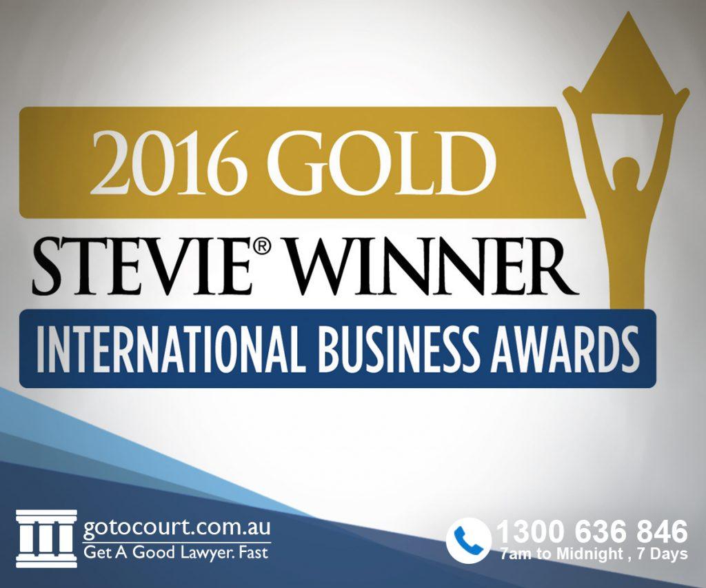 Gold Trophy - Stevie Award Winner - International Business Awards