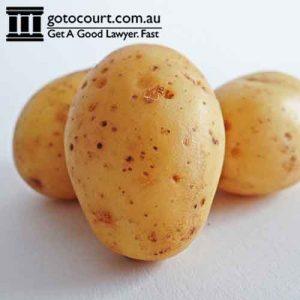 Is it illegal to possess 50 kgs of potatoes in Western Australia?