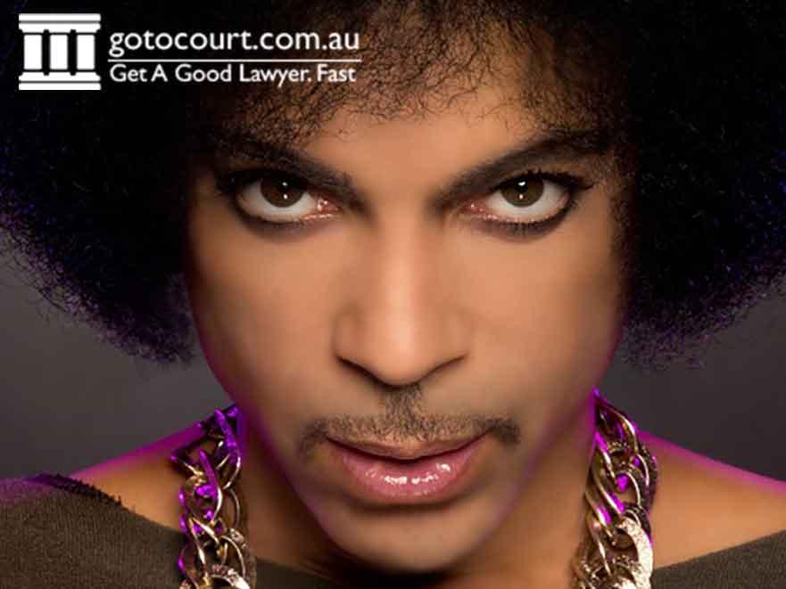 Prince, music legend