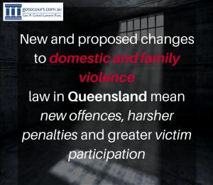 New DV Laws QLD