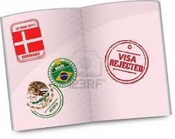 Immigration visa refused
